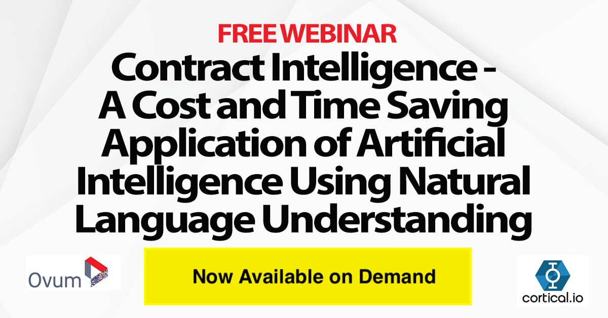 Register for Contract Intelligence Webinar