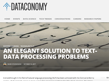 An elegant solution to text-data processing problems