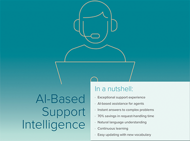 Support Intelligence - Fact sheet