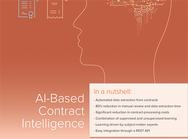 Contract Intelligence - Fact sheet